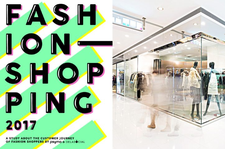Deckblatt der Fashion Studie Insights für Shopping, Retail und Digital