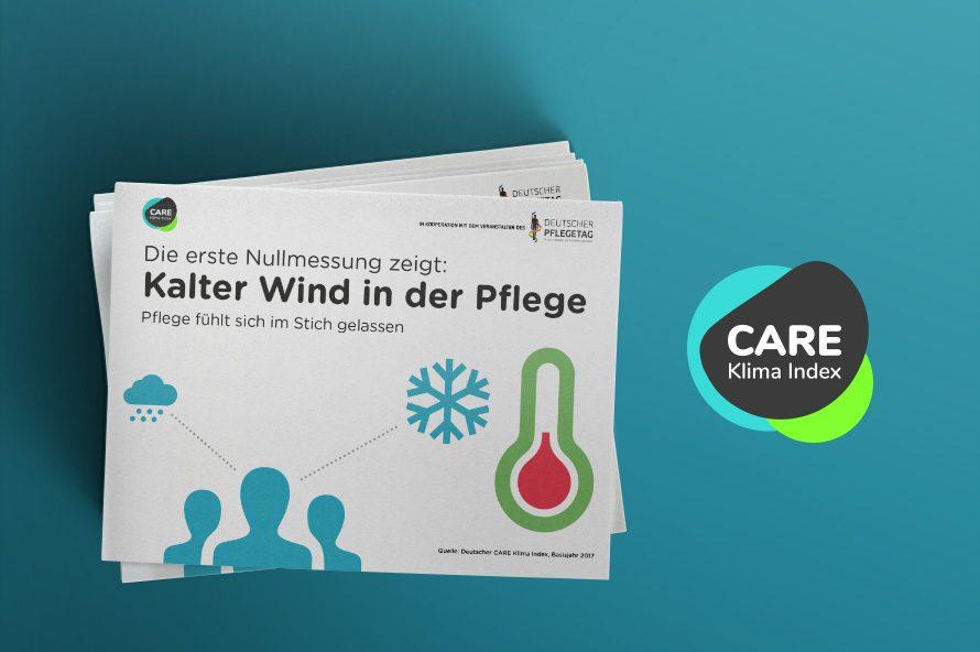 CARE Klima-Index 2017 Deckblatt und CARE Klima-Index-Logo